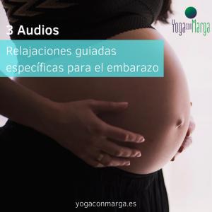 3 Audios: Relajaciones guiadas específicas para el embarazo
