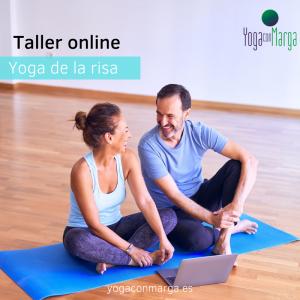 """Taller online """"Yoga de la risa""""."""