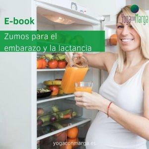 E-book: Recetario de zumos para el embarazo y la lactancia: